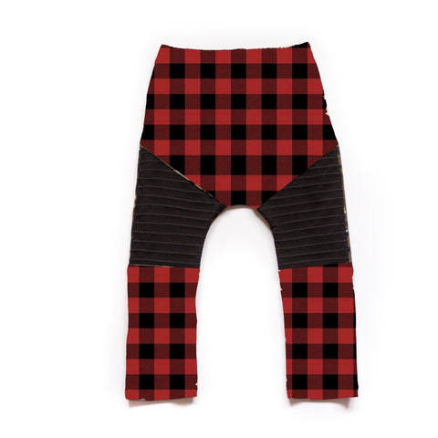 Buffalo Plaid Moto Leggings or Harems