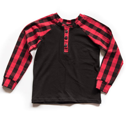 Buffalo Plaid Henley