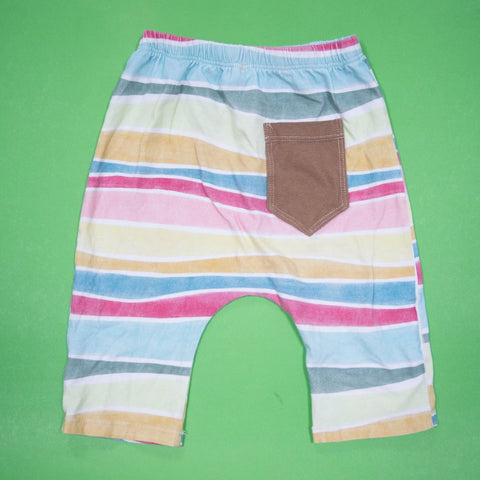 Summer Stripes Harem Shorts