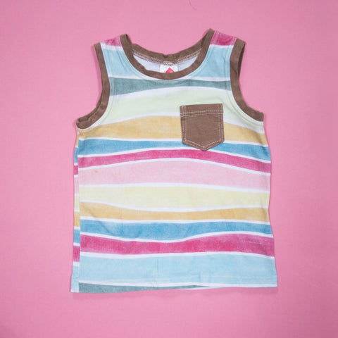 Summer Stripe Tank Top
