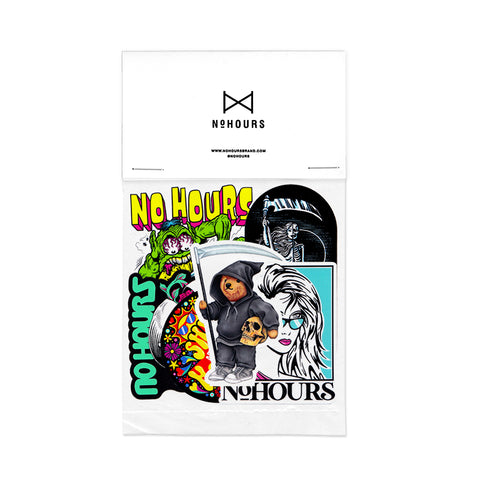 NoHOURS Sticker Pack 13