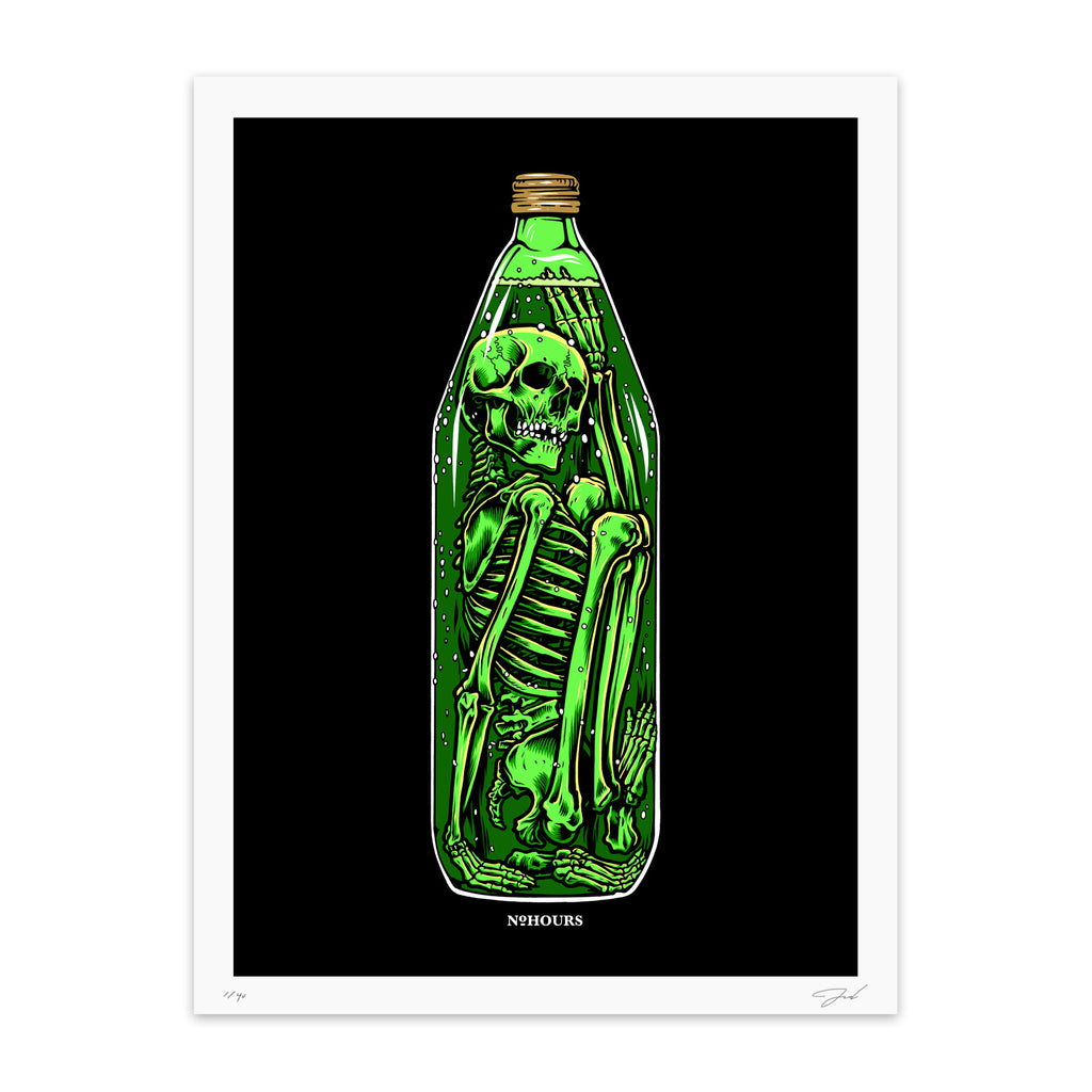 Time In A Bottle Print