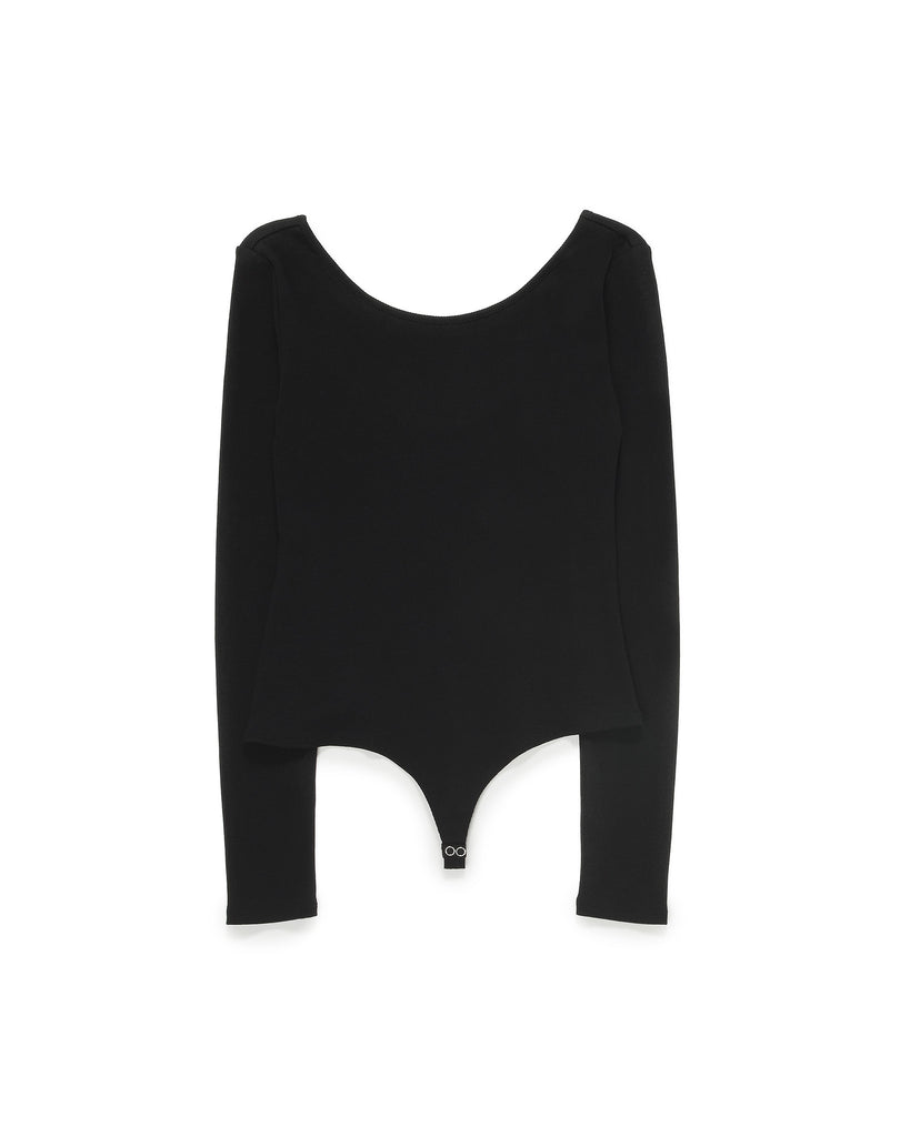 Ribbed Cotton Bodysuit