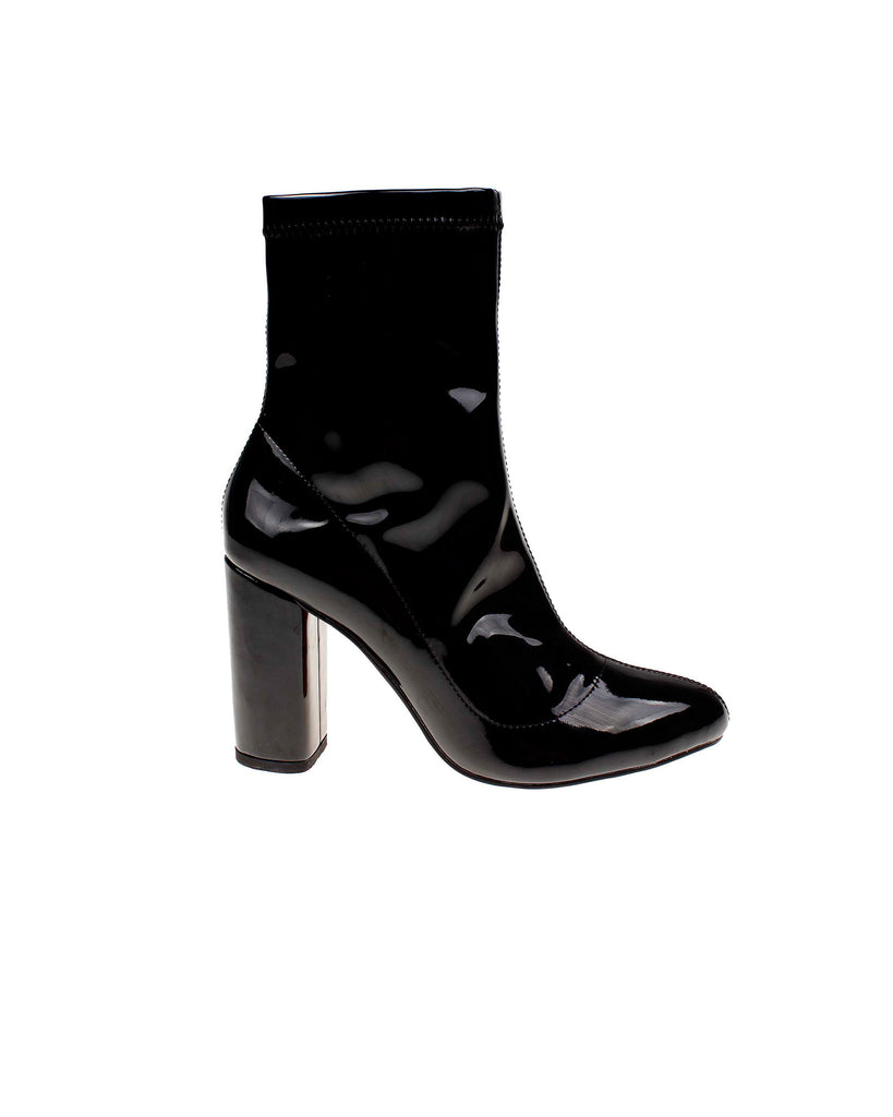 Kathryn Patent Leather Bootie