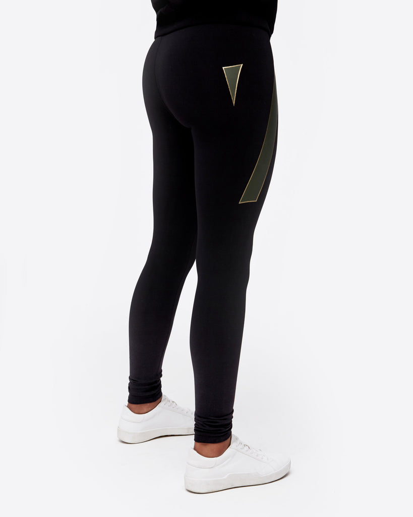 Green Graphic Lounge Legging