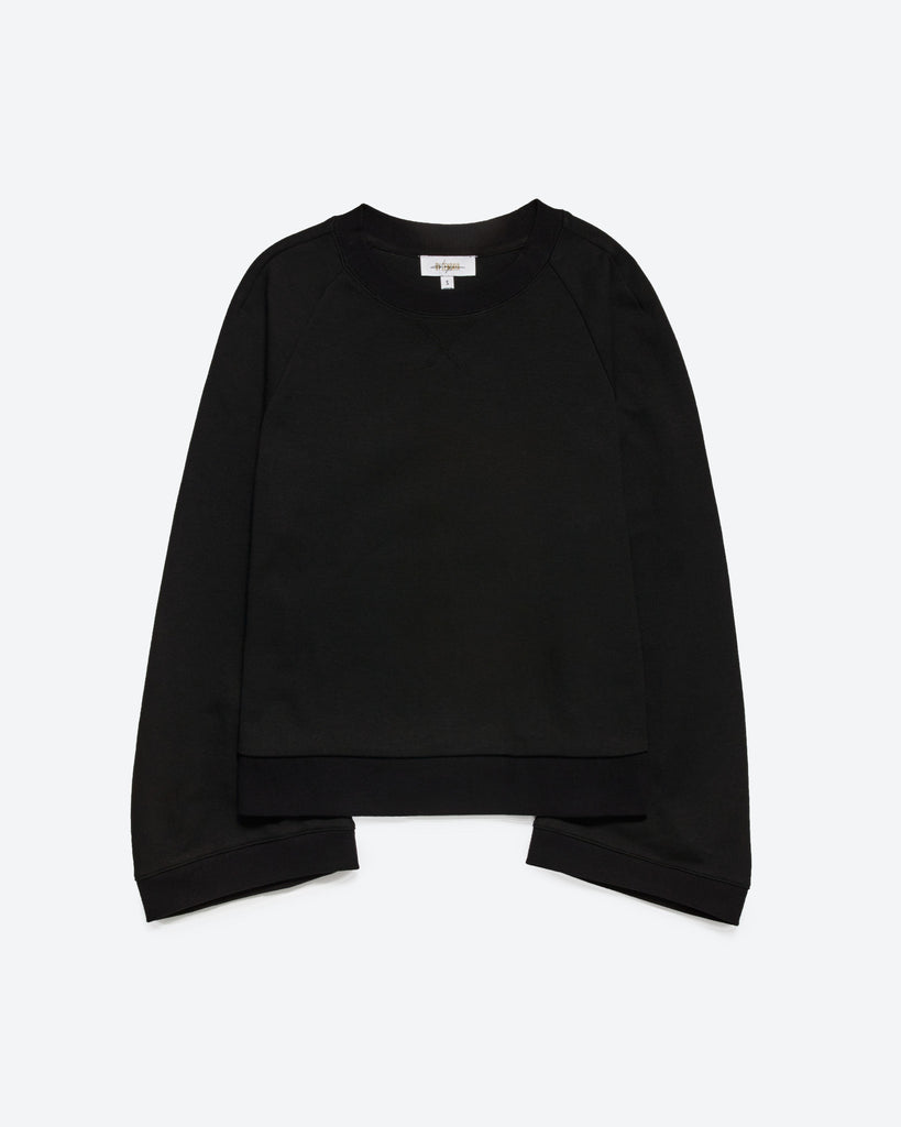 DOUBLE FACE JERSEY SWEATSHIRT