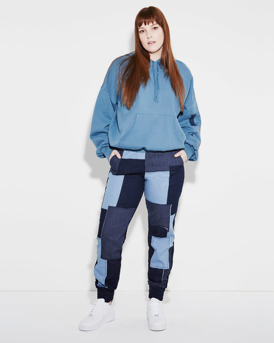 patchwork-denim-jogger