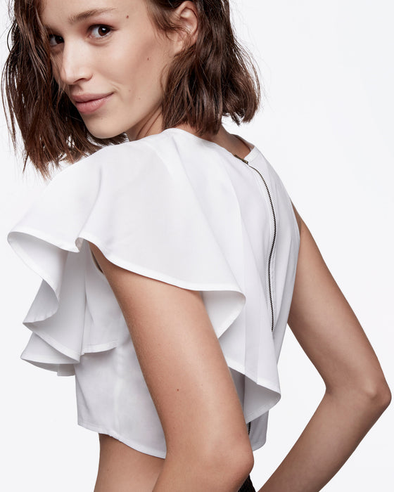 ruffle-shoulder-crop-top