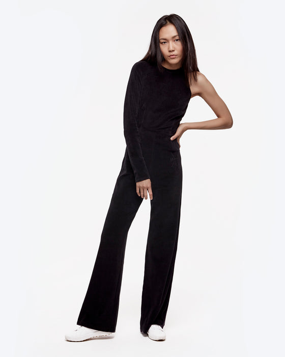 velour-one-shoulder-jumpsuit