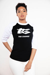 BE The Change Raglan