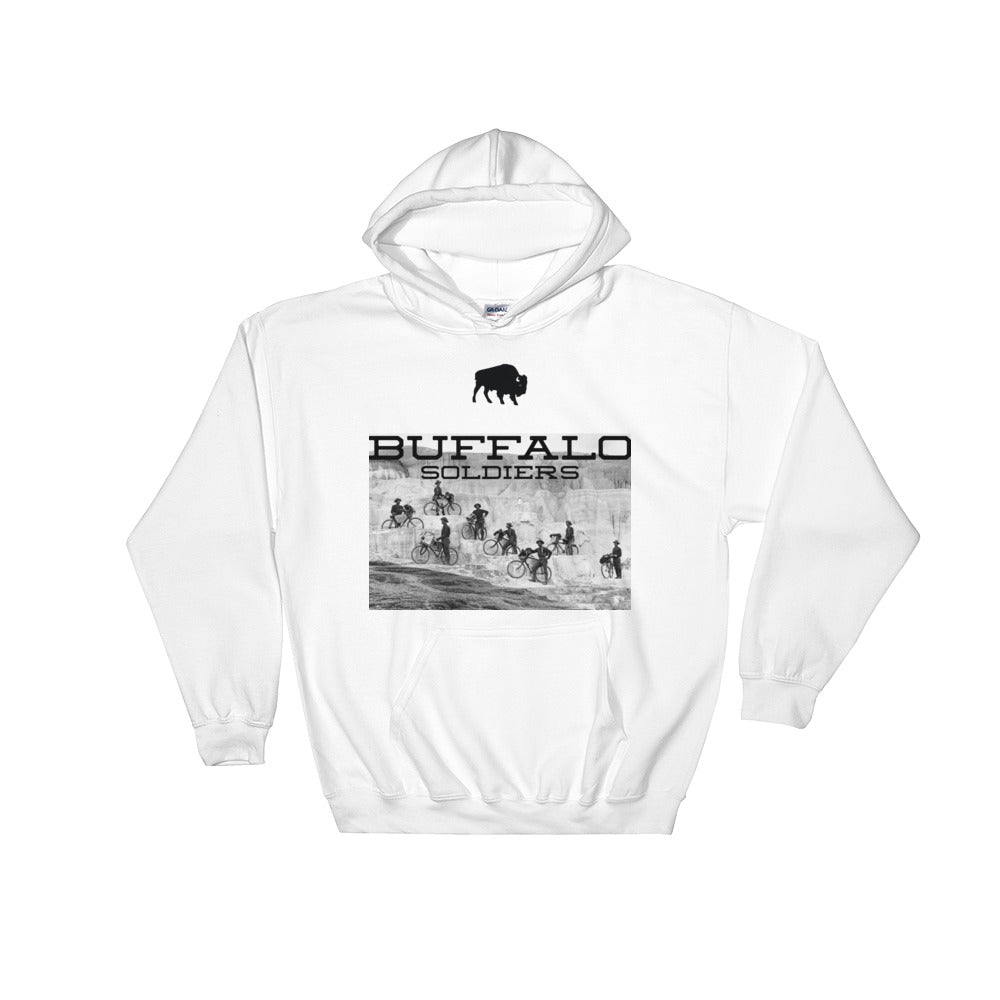 Buffalo Soldier Hoodie - Black Excellence by HWMR