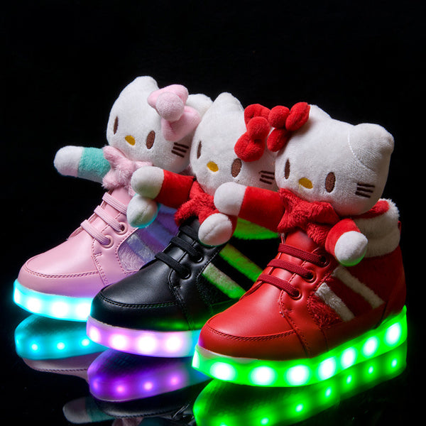 Hello Kitty Lighting Shoes