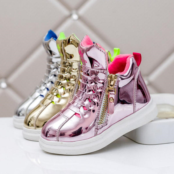 High Top Children Shoes