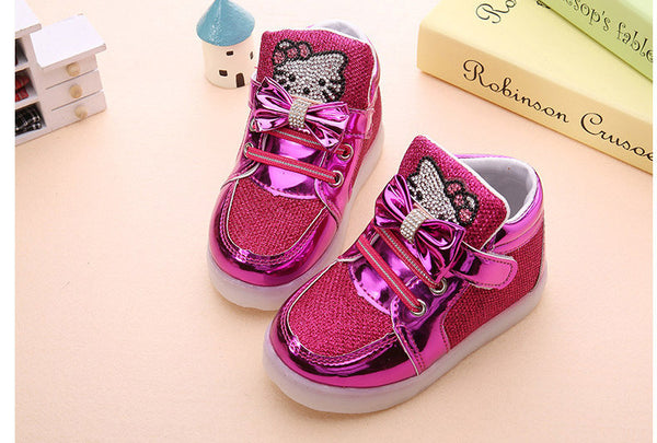 Toddler Hello Kitty Lighting Shoes