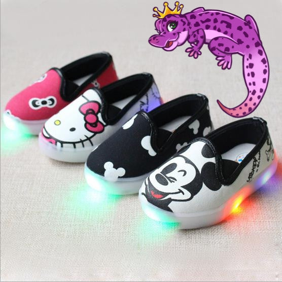 Low Tops Mickey or Hello Kitty Shoes