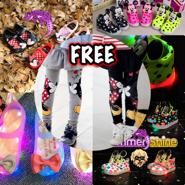 FREE Shoes With Leggings