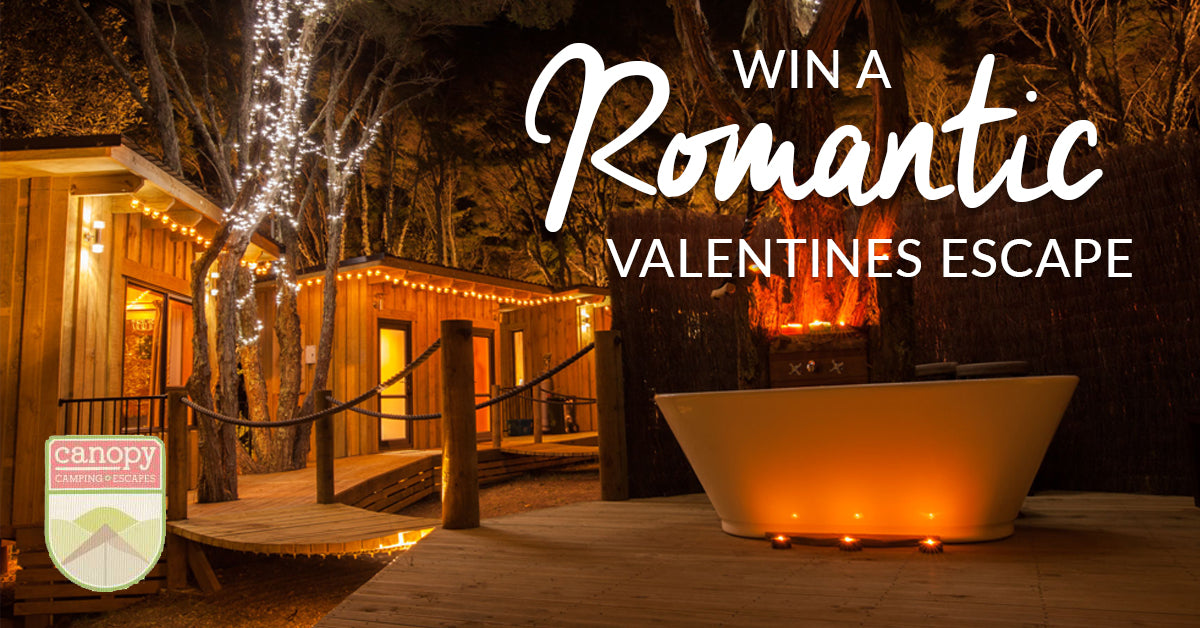Valentines Romantic Giveaway Promotion with Canopy Camping