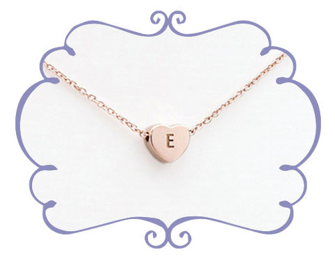 Rose Gold Love Heart