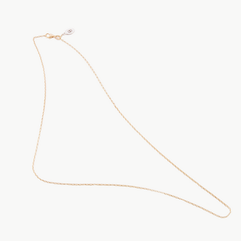 Petite Rose Gold Chain