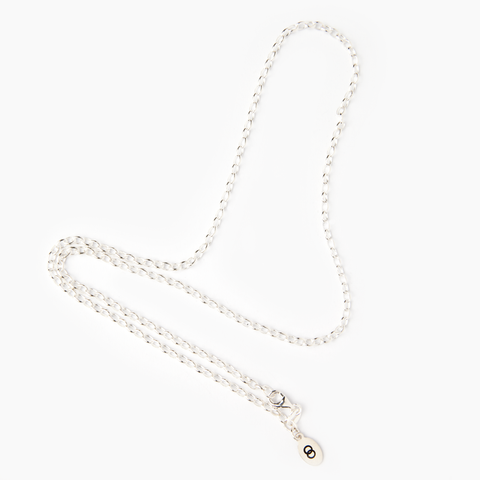 Standard sterling silver LoveLoops belcher chain