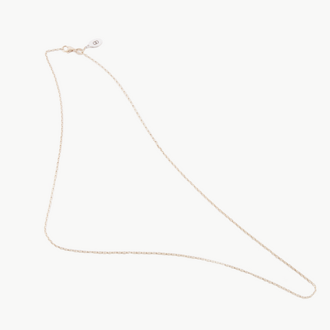 Petite white gold LoveLoops necklace