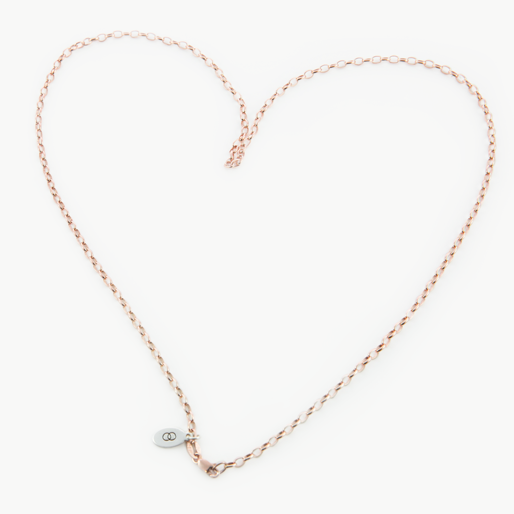 Standard rose gold LoveLoops belcher chain