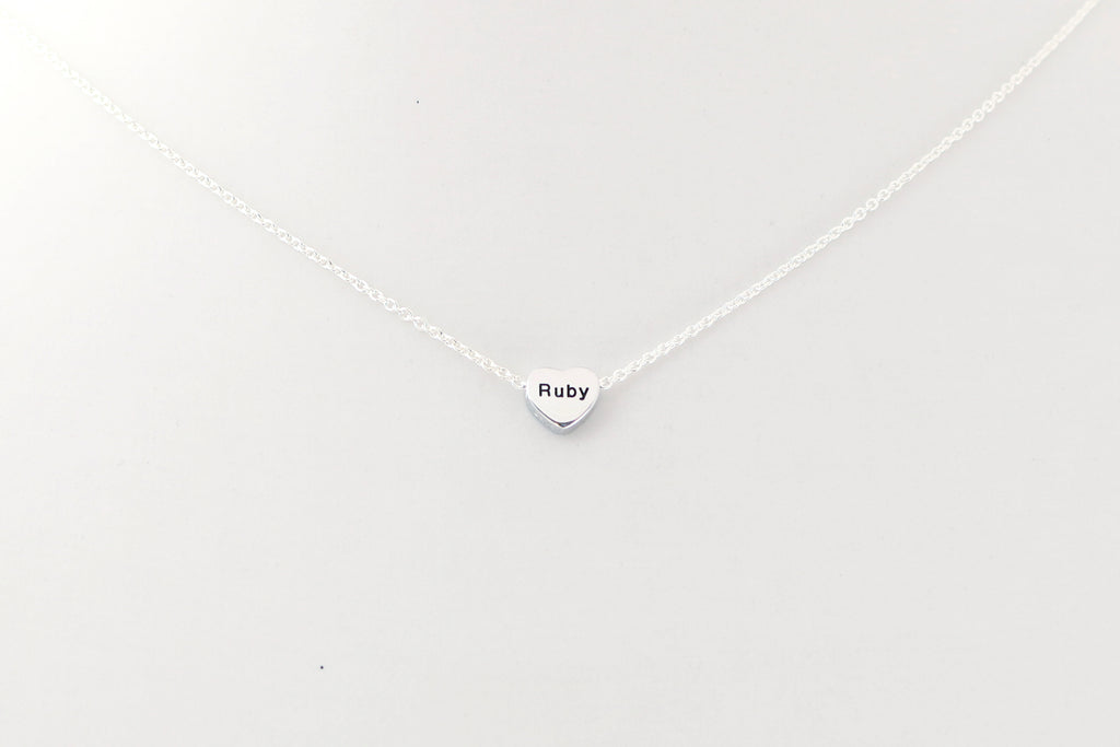 Stormy's Silver LoveHeart Necklace