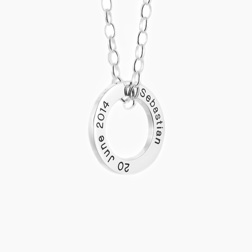 Darling sterling silver memorial jewellery for Mum