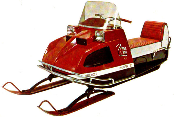 1971 Boa-Ski Mark I/II Decal Set