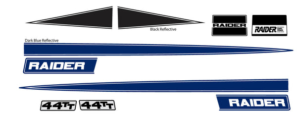 1973 Raider Decal Kit