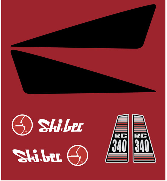 Ski-Bec RC340 Hood Decals