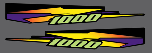 1998 Arctic Cat Thundercat Tunnel Decals