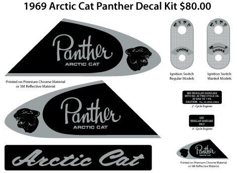 1969 Arctic Cat Panther Kit