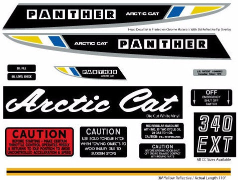 1970 Arctic Cat Panther Set