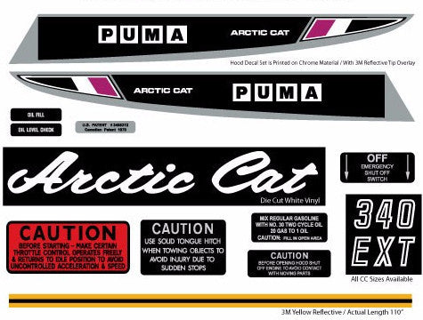 1970 Arctic Cat Puma Set