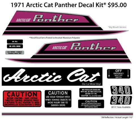 1971 Arctic Cat Panther Big Mouth