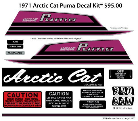 1971 Arctic Cat Puma Big Mouth