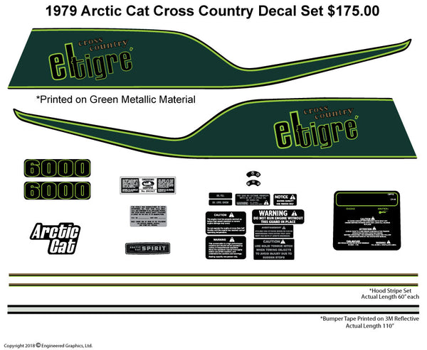 1979 Arctic Cat Cross Country Cat