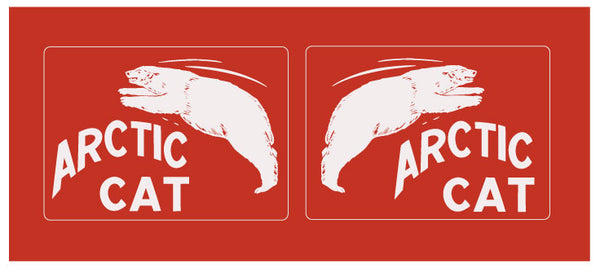 1964 Arctic Cat Decal Kit