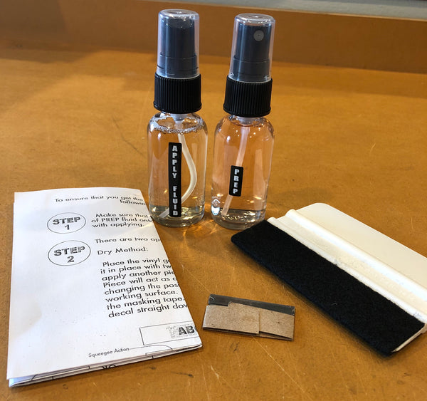 Vinyl Application Kit