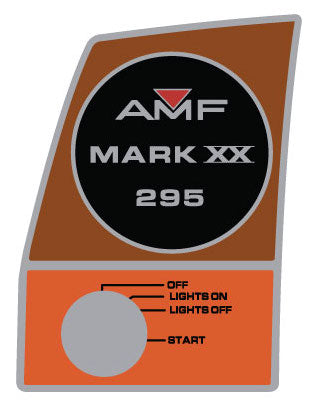 AMF Ski Daddler MARK XX Dash Decals