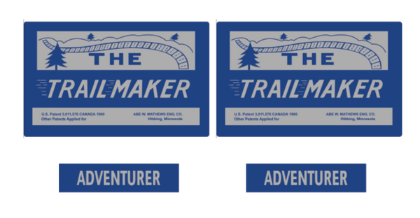 1963-65 Trailmaker Decal Set