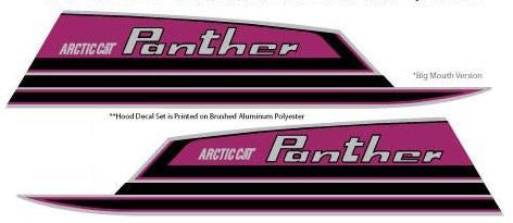 1971 Arctic Cat Panther Decal Hood
