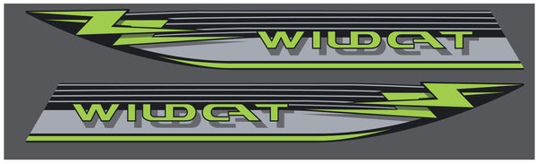 Arctic Cat 1991 Wildcat Hood Decals