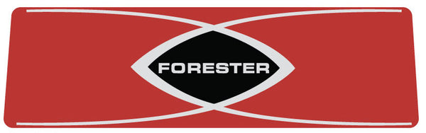 Forester Homelite Snowmobile Rear Tail Light Decal