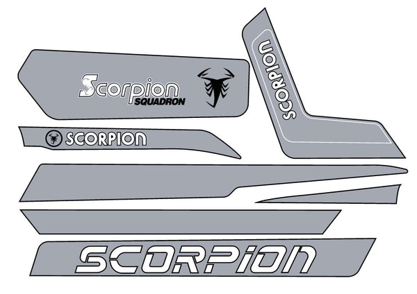 1980 Scorpion Snopro Decal Kit