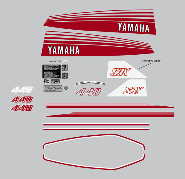 1978 Yamaha SRX Decal Set