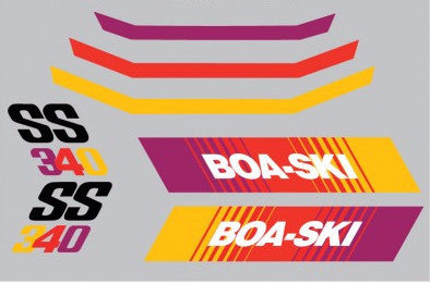 1975 Boa-Ski SS Decal Set