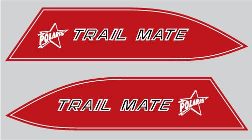 1970 Polaris Trail Mate Decal Set