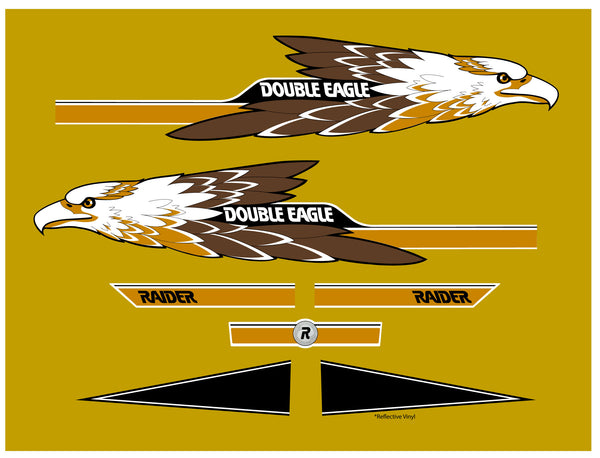1974 Double Eagle Raider Decal Kit